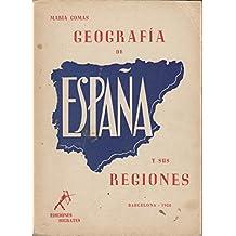 GEOGRAFÍA DE ESPAÑA Y SUS REGIONES