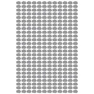 300 x wolken Aufkleber, jeweils 1.5cm breit. Kartenherstellung, Scrapbooking, Basteln, Fenster, Spiegel, Auto, Wanddekor