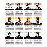Tyrannen & Despoten Quartett – Das Diktatoren Kartenspiel die 32 übelsten Führer der Geschichte auf Spielkarten - 4