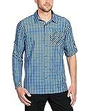 VAUDE Herren Albsteig Long Sleeve Shirt Hemd, North Sea, L