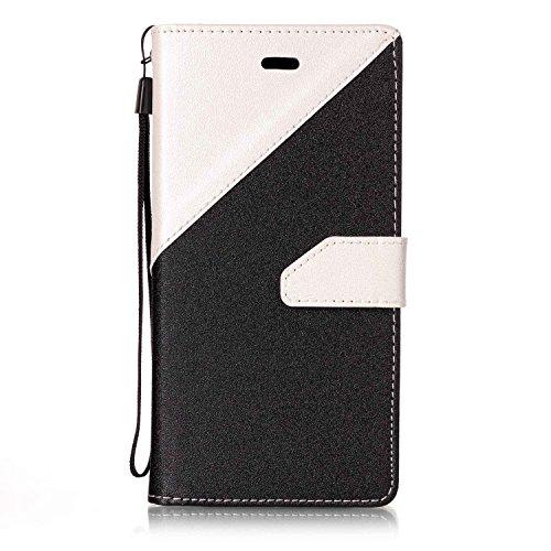 93cda41c18b Funda para Huawei P8 Lite 2017, Huawei P8 Lite 2017 carcasa de libro,  Huawei Honor 8 Lite Carcasa Flip, morechioce Lusso Bookstyle PU Flip Piel  Leather ...