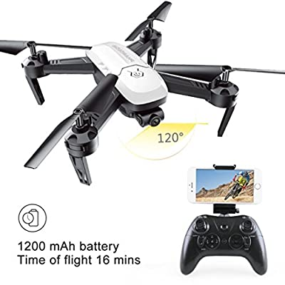 Mini Drones For Adults And Kids Without Camera,VNEIRW SMRC S8 One Key Retrun Drone Battery 3.7V 1200MAH 360 Trick Roll 6-Axis Gyro Four Axis Aircraft Quadcopter Aititude Hold RC Toy Helicopter Drone,RC Mini Small Drone With Camera For Adults Kids,Drones W