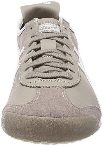 Asics MESSICO 66, Chaussures de Fitness Mixte Adulte Beige (Moon Vaporous Grey 9190)