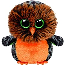 TY Beanie Boo Plush - Halloween Midnight Owl 15cm by Ty Beanie Boos