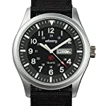Infantry Mens Analogue Military Watch Tactical Army Outdoor Quartz Field Wrist Watches for Men Waterproof Date Day with…