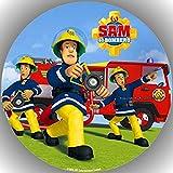 Premium Esspapier Tortenaufleger Feuerwehrmann Sam T14