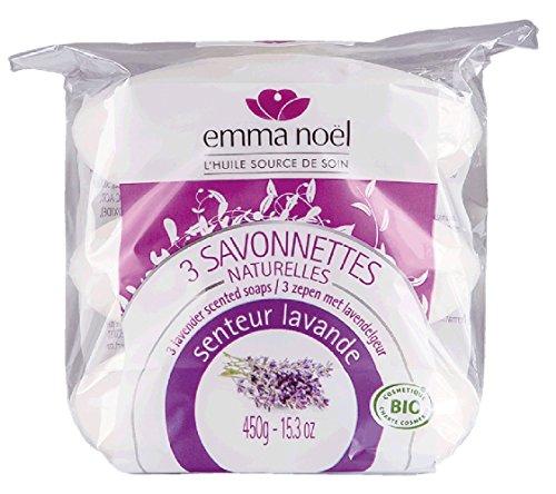 emma noël Savonnette Lavande Cosmébio 150 g