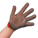 Stahlnetz Stechschutzhandschuh PROTEC nach EN 1082, Größe XS