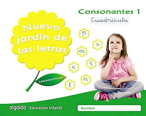 Nuevo jardín de las letras. Consonantes 1. Cuadrícula