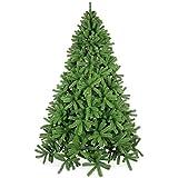 Künstlicher Weihnachtsbaum 240cm in Premium Spritzguss Qualität, grüne Douglastanne, Tannenbaum mit PE Kunststoff Nadeln, Douglasie Christbaum