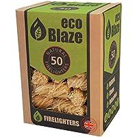 Eco Blaze Natural Firelighters - 50 Box