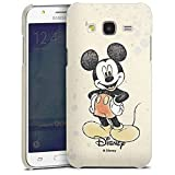 Samsung Galaxy J5 (2015) Hülle Premium Case Cover Disney Mickey Mouse Micky Maus