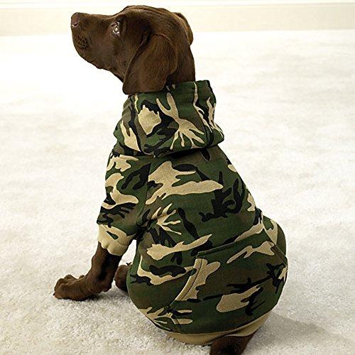 Camo Hund Hoodie Designer Hoody Jacke alle Größen Big Hunde Kleidung Kleidung Hochwertige Qualität alle Größen, Große Hunde, Kleine Hunde, Jacke, Pullover, Mantel Hoodie XXXS XS S M L XL XXXL Welpe Chihuahua zu alstation