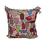 Koly La bolsa de orina bebé impermeable especial sola cremallera bolsa de almacenamiento, 11 colores,K