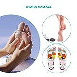 Naipo Massage Shiatsu des Pieds,Masseur Shiatsu Pieds,Appareil de Massage pour Pieds avec Massage Shiatsu Profond, 18 Nœuds de Massage, Fonction Chaleur, Contrôles Tactiles et un Design Ergonomique
