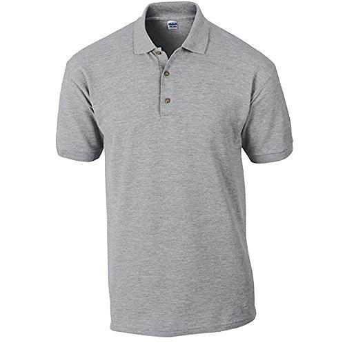 Gildan Ultra Cotton Ringspun Piqué-Poloshirt - bis Gr. 5XL/Sport Grey, XXL
