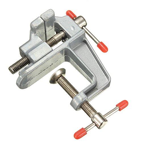 Preisvergleich Produktbild Langlebiges Aluminium Mini Tabelle Vise Mini Juweliere Hobby Klemme auf Tragbarer Tisch Werkbank Schraubstock Werkzeug