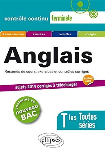 Anglais Terminales Toutes Séries