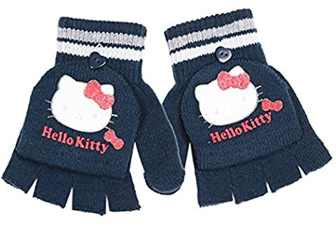 Mitaines/moufles enfant fille Hello kitty Marine 4/8ans