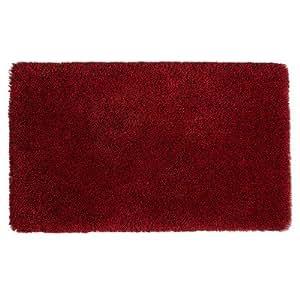 Tapis de bain romy couleur :  noir/blanc/chiné taille :  140 cm x 80 cm