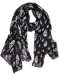 8bc393935dc0 Amazon.fr   foulard tete de mort - Echarpes   Echarpes et foulards ...