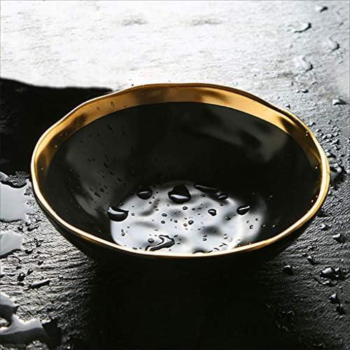 DLewiee Ciotola in Ceramica Creativa in Stile Europeo. Ciotola Macedonia. per Macedonia. Ciotola Ciotola per Zuppa di Ramen, Diametro 21,5 Cm 203f50