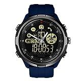 Montre De Sport Multifonctionnelle Intelligente Webla Zeblaze Vibe 4 Montre Intelligente Téléphone De Sport Hommes Smartwatch Ios/Android Q5Y8 (Bleu)
