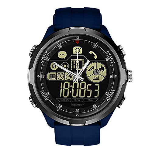 Mode Fitness Tracker | Zeblaze Vibe 4 HYBRID Smart Uhr Telefon Sport Herren Smartwatch iOS/Android Q5Y8 | Fitness Uhr für Android und IOS Smartphones | Damen Herren