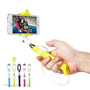 DBPOWER Selfie Stick Wireless, Selfie Monopiede con Telecomando Bluetooth Removibile, Autoritratto Monopiede per iPhone 6/6s/6 Plus/6s Plus/5/5s/5c/4/4s, Samsung Galaxy, Note e Molti Altri Smartphone