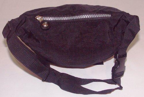 Damen Herren Tasche Gürtel Tasche Hüfttasche Bauchtasche Nylon Schwarz Neu