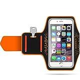 Brazalete Deportivo, Sahara Sailor Brazalete Movil Antideslizante y Impermeable con bolsillo con llaves y auriculares para iPhone 7 7 Plus SE 6 6s Samsung Galaxy