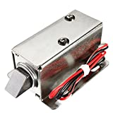 UG LAND INDIA Electric Lock Solenoid Cabinet | Drawer Door Lock | 12V DC 1.1A Small Electric Lock Access Control System Mini Locks