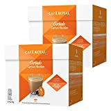 Café Royal Cortado Espresso Macchiato, Kaffee, Kaffeekapsel Nescafé Dolce Gusto Kompatibel, Orange, 32 Kapseln