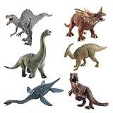 #3: TOYMYTOY 12'' Large Dinosaur Toys Set - Realistic Action Figures for Boys, Set of 6