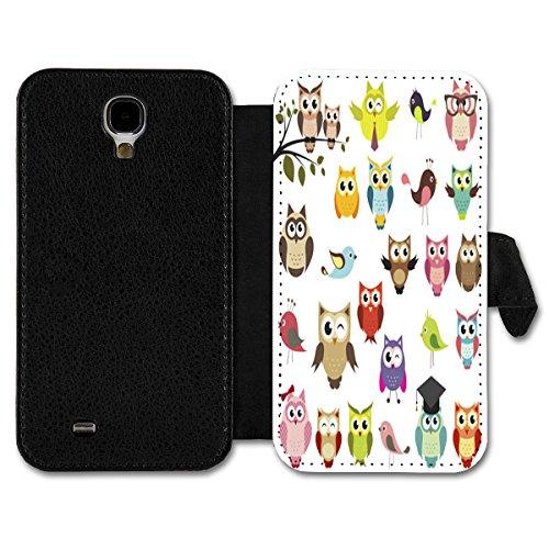 Book Style Flip Handy Tasche Case Schutz Hülle Schale Motiv Etui für Apple iPhone 6 - 4,7 Zoll - A6 Design7 Design 6
