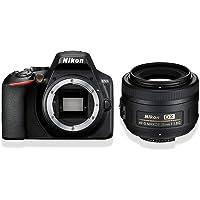 Nikon D3500 Digital SLR im DX Format mit AF-S DX 35mm 1:1,8 (24,2 MP, 3 Zoll TFT-Monitor, eingebauter Guide für das…