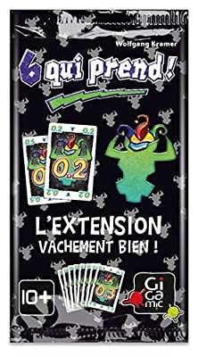 Gigamic - AMZES - Extension 6 Qui Prend - Booster de 10 cartes