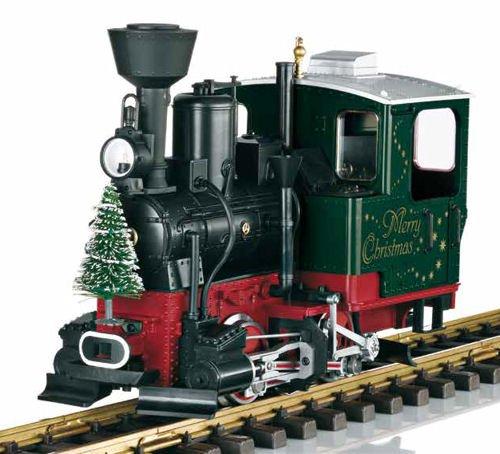 Weihnachts-Dampflok von LGB