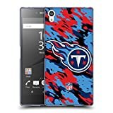 Head Case Designs Official NFL Camou Tennessee Titans Logo Soft Gel...