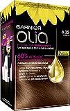 Garnier - Olia - Coloration Permanente à l'Huile Sans Ammoniaque Châtain - 6.35 Noisette