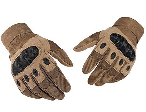 Bonnoeuvre Guantes Tácticos guantes de moto, guantes de pantalla táctil duro guantes...
