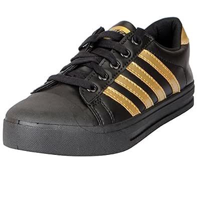 Sparx Women's Black Golden Sneakers SL_111-38