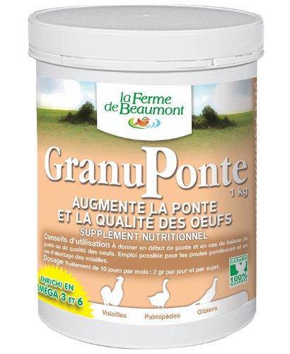 FERME DE BEAUMONT GranuPonte 1 kg - favorise la ponte Oméga...
