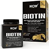 #3: Wow Biotin Maximum Strength Veg Capsule 10,000 mcg - 60 Count