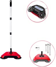 Home Cleaning Supplies - Multipurpose 360 Degree Rotating Brush Spin Hand Push Broom Sweeper Dust Collector Floor Surface Cleaning Mop for Home, Office, Etc