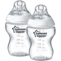 Tommee Tippee Closer to Nature 260ml/9oz Bottles x 2