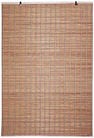 Kurtzy Roll up Bamboo Curtain/Blinds for Window and Balcony-Indoor Use (Beige, 6 Ft Height x 4 Ft Width)(Pack