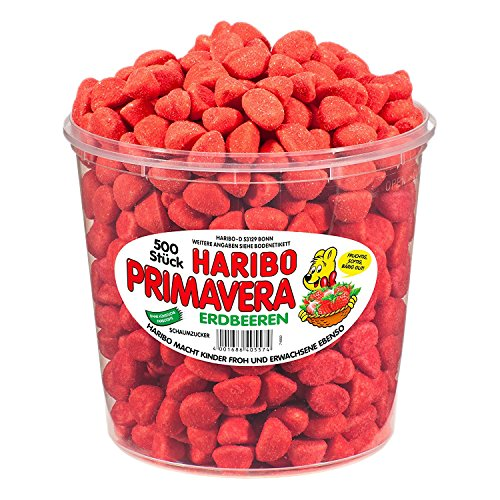 haribo-small-primavera-strawberries-1150-gram-tub