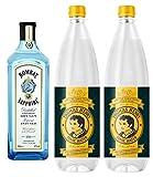 Bombay Sapphire London Dry Gin (1 x 1.0 l) + Thomas Henry Tonic Water (2 x 1.0 l) inc. 0.30€ MEHRWEG Pfand