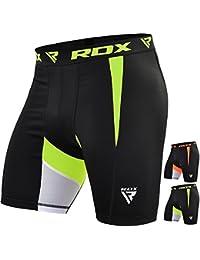 RDX Homme Short De Compression Flex Cuissard Jogging Thermique Course à Pied Base Layer Sudore